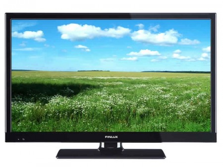 """FINLUX 22"""" LED-TV DVD 12V/230V"""
