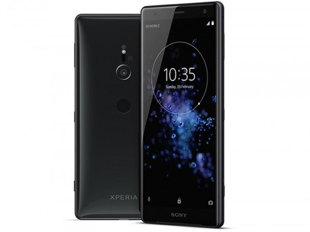 Sony Xperia XZ2 Sort