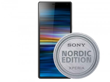 Sony Xperia 10 Dual I4113 (sort) m/ Gear flipcover